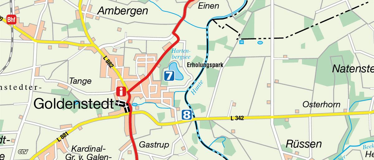 Weser Radweg Karte Pdf.Hunte Radweg Rad Fahren Von Der Wesermarsch Bis Zum Dümmer